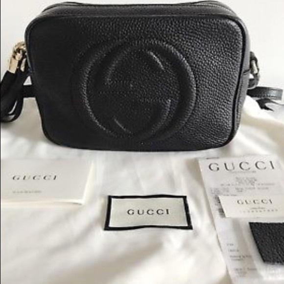 42caa157e Gucci Handbags - Authentic Gucci Soho Disco / W Receipt
